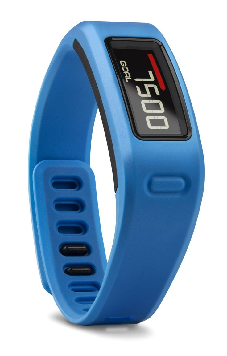 B q bathroom scales - A Blue Garmin Vivofit Fitness Band