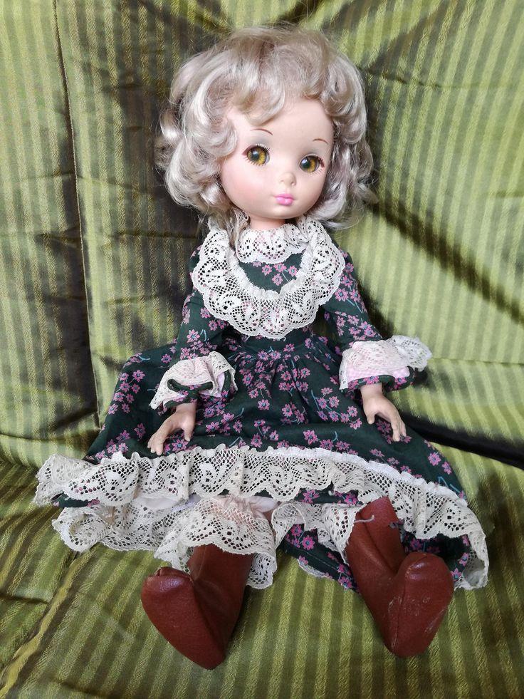 Bambola furga-bambola vintage-vecchia bambola furga-furga vestito verde-bambola con stivali-regalo collezionista-regalo bambina di lovelymore su Etsy