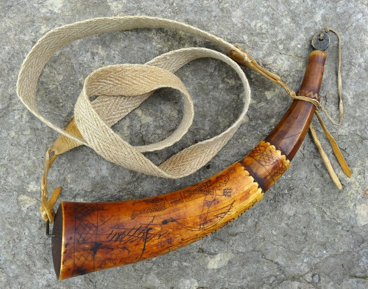 Contemporary Makers: Powder Horn by Scott Sibley for Doc Wilhite
