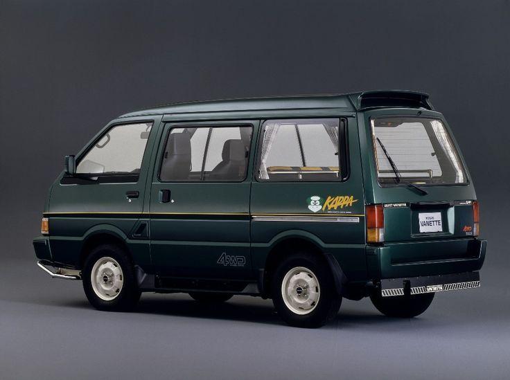 Nissan Vanette Kappa 4wd C22 1988 Nissan Vans Nissan Cars Nissan