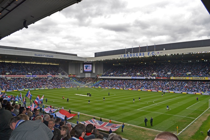 Rangers FC, Ibrox Park, 05/05/2012