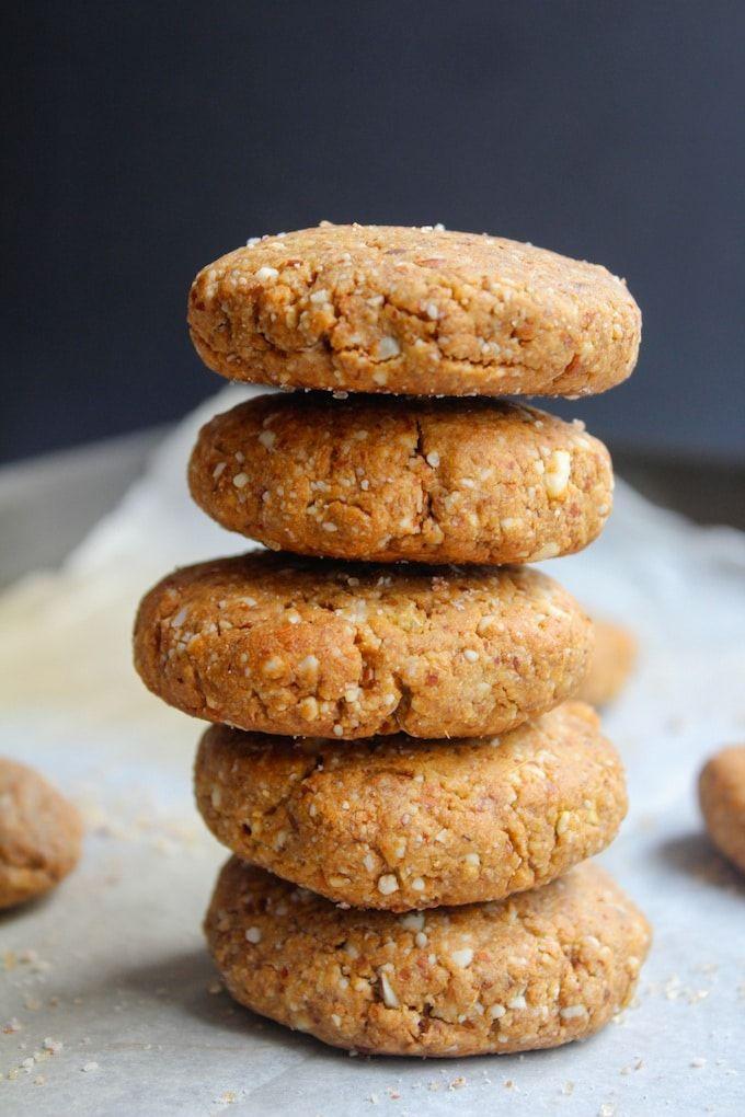 Grain Free Ginger Cookies | www.asaucykitchen.com