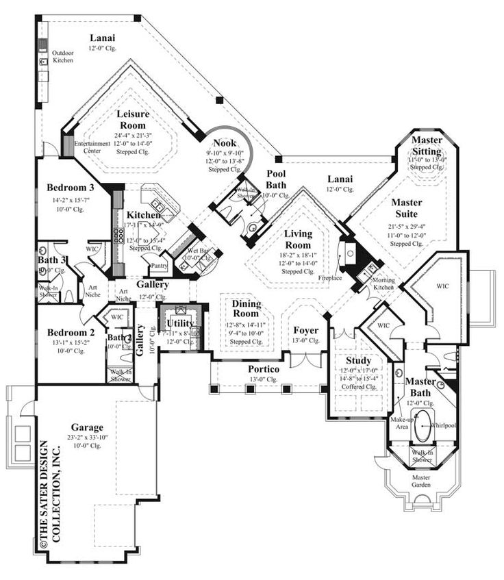 118 best European House Plans - The Sater Design Collection images ...
