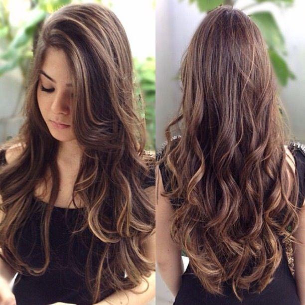 cabelo castanho - Pesquisa Google