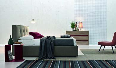 #bedroom, #red, #white, #modern #luxury #serene