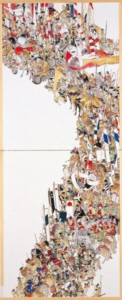画家山口晃の現代アート作品、写真、画像集 - NAVER まとめ