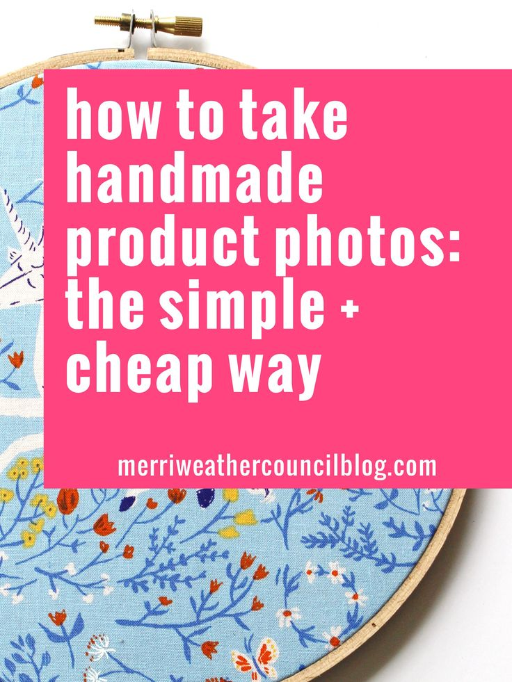 How to take handmade product photos for etsy or your website: the simple and low…