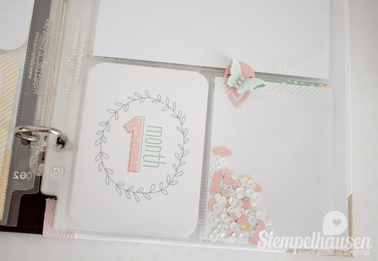 Stampin' Up! Project Life Album Baby Girl 23
