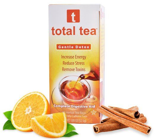 Gentle Detox Tea. Reduce Bloating Constipation and Weight Loss Tea. 25 Day Supply. Foil Wrapped for Freshness. Doctor…