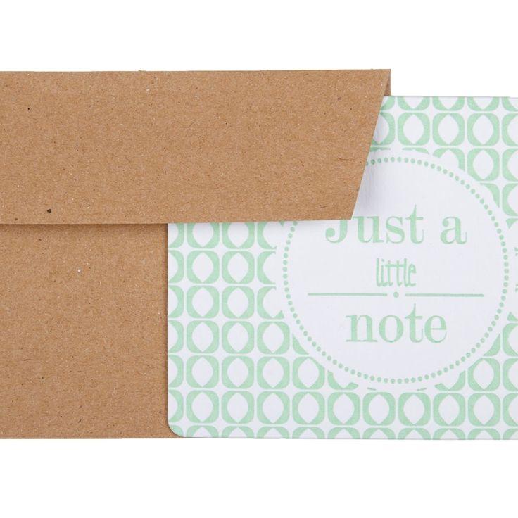Postkaart Just a little Note   Postkaarten   Sissy-Boy Online store
