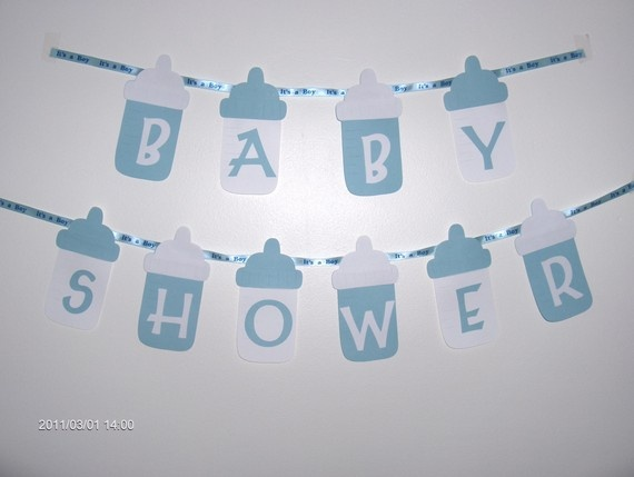 Pancarta de Baby Shower. #DecoracionBabyShower