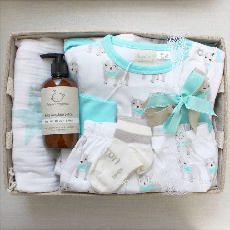 Room to Bloom Puppy Love Baby Gift Hamper (SOLD)