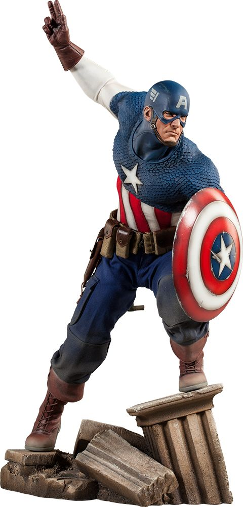 Captain America: $399.99 *Click on picture links for more pictures, details, & to order direct from Sideshow!