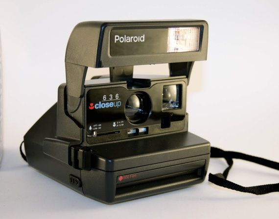 Polaroid 636 Close-up Tested with Original Box by DoubleRandC #polaroid #vintagecamera #istantcamera #doublerandc #etsyshop #etsy #vitage #vtg #electronics #polaroid636 #closeup #camera #vintagephoto #photocamera