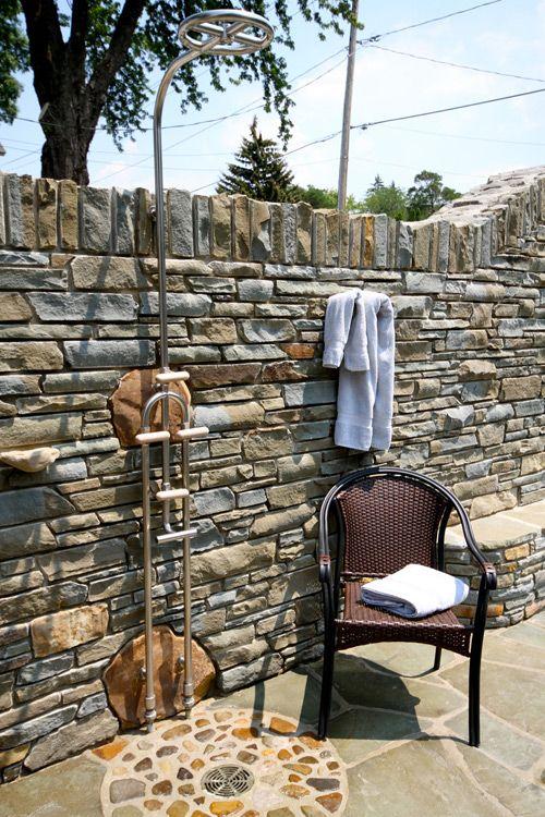 Sivak Stonemasonry   Outdoor Shower