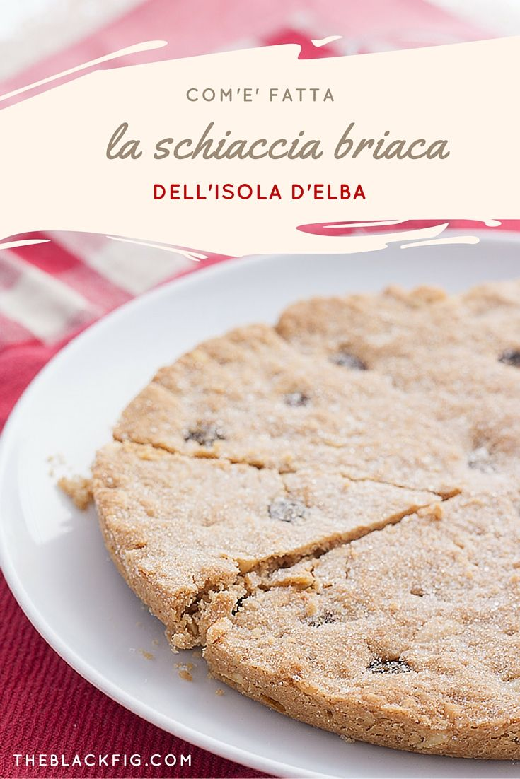 A simple tuscan cake from the Elba Isle, with virgin olive oil and dried fruits.