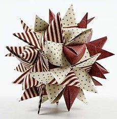 12042 Paperiset joulukoristeet