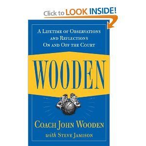 book report on john wooden wooden on leadership John a wooden is a retired major from the us air force kindle book 15 wooden on leadership (summary) john wooden author steve jamison author.