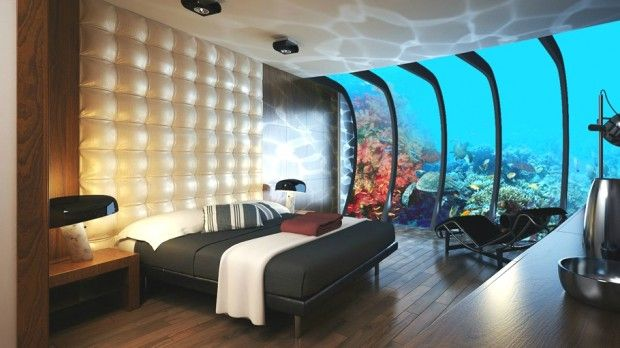 Dubai Underwater Hotel // would really love to go there at least once! absolutely magical!  <3