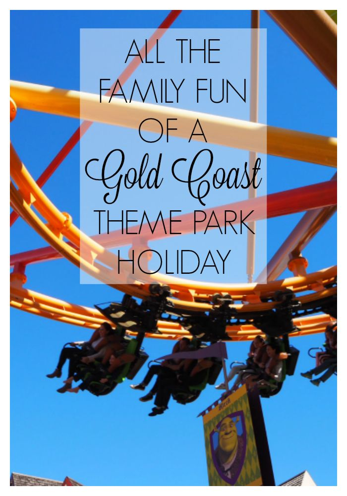 When you find yourselves bonding over theme park rides and truly enjoying each other's company, then a Gold Coast theme park holiday is the perfect escape #goldcoast #familytravel #themepark