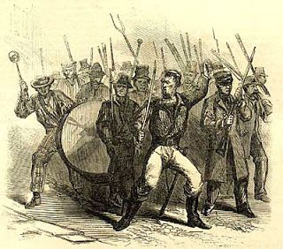 One of the first draft riots during the Civil War occurred November 12th 1862 in Wisconsin.