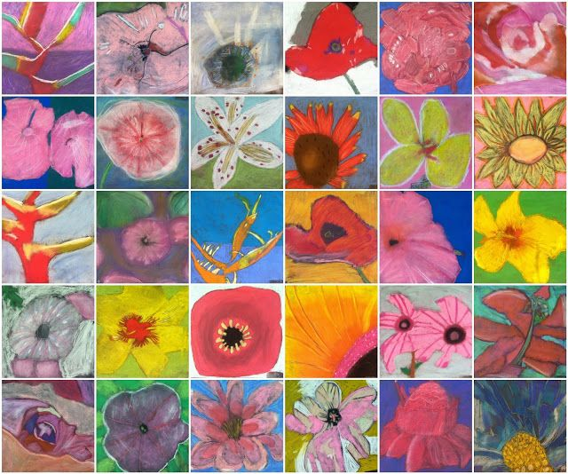O To Www Bing Com: ART With Mrs. A. Flowers Inspired By Georgia O'Keffee In