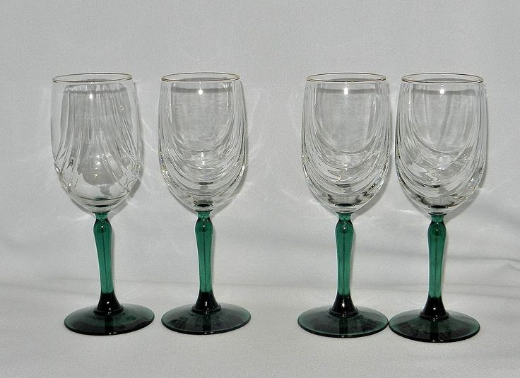1000 images about ruby lane shops picks pins 3 on for Thin stem wine glasses
