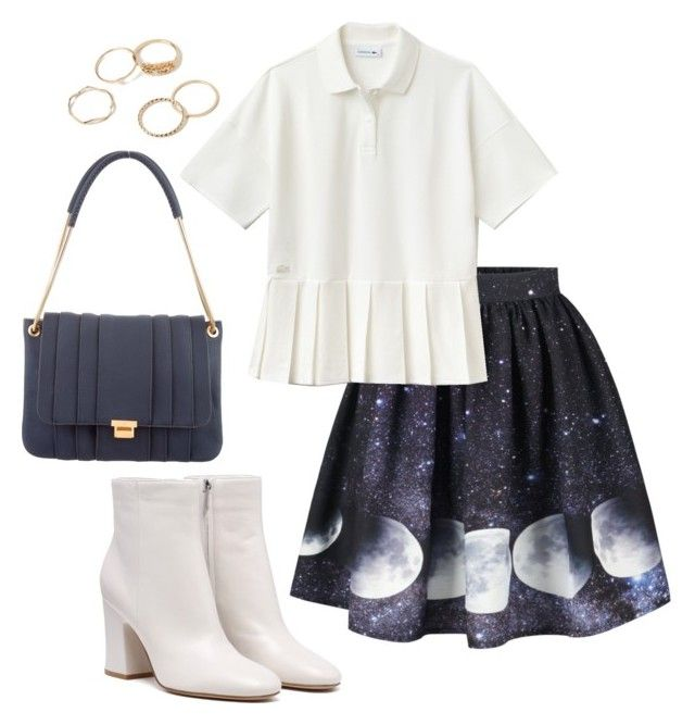 """""""Moon walk"""" by elshakalaka on Polyvore featuring Lacoste and Anya Hindmarch"""