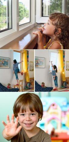 Окна и связанная с ними детская безопасность / Малютка