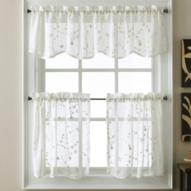 87 best dream home images on pinterest bath towels fleece blankets and gardening - Jc penny kitchen curtains ...
