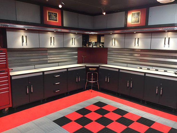 384 Best Garage Floor Tiles Images On Pinterest Driveway