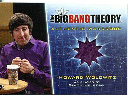 The Big Bang Theory Season 5 Wardrobe Card M5 Howard Wolowitz @ niftywarehouse.com #NiftyWarehouse #BigBangTheory #TV #Show #BigBangTheoryShow #BigBangTheoryTVShow #Comedy