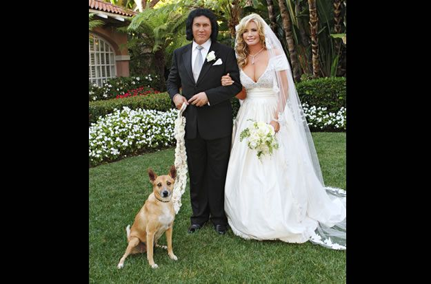 Gene and Shannon's Wedding Pictures - Gene Simmons Family Jewels - AETV.com