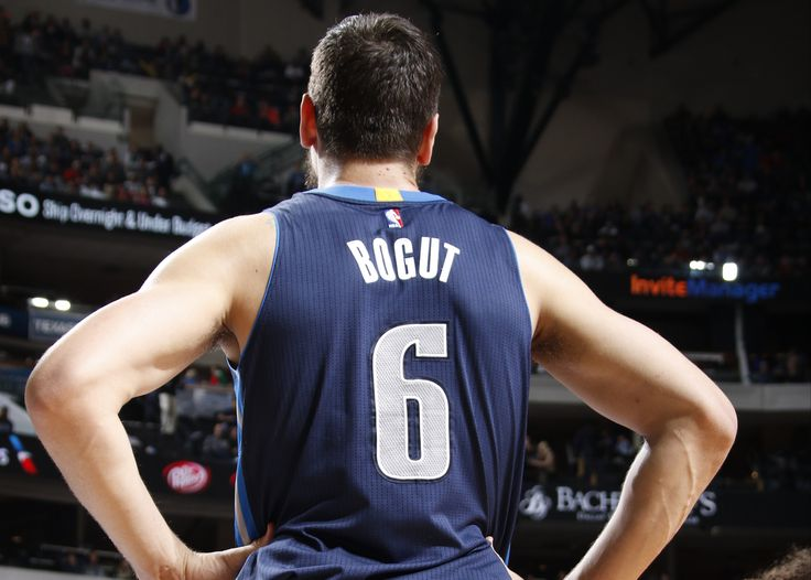 Andrew Bogut is now just biding his time until he bolts from Dallas.