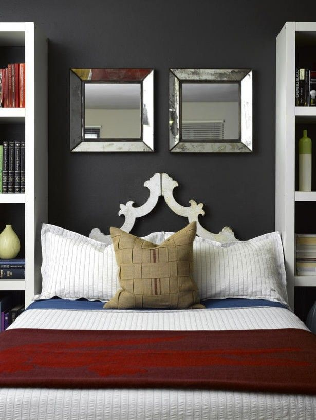 Gray And Red Bedroom Google Search