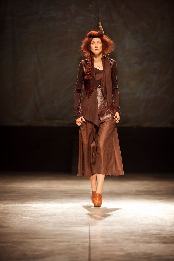 FW 10/11 . THE HUNTER . Fashion Show - Ombradifoglia di Elena Pignata
