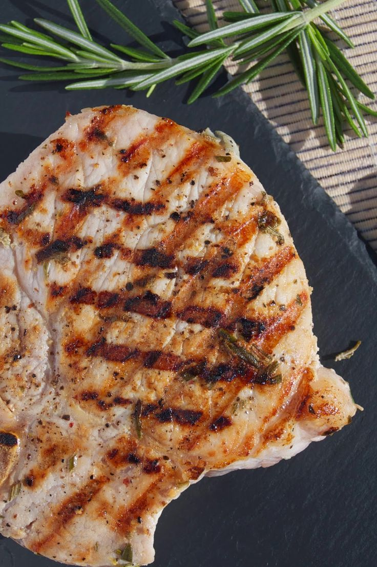 Find This Pin And More On Pork Recipes Buttermilk Brined Pork Chops On The  Grill