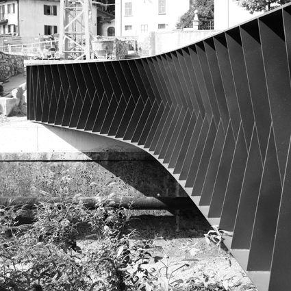 ponte pedonale ACT _ ROMEGIALLI