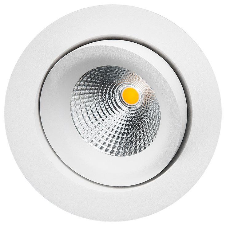 SG Armaturen AS – GYRO ISOSAFE MATT-HVIT 6W LED 2700K