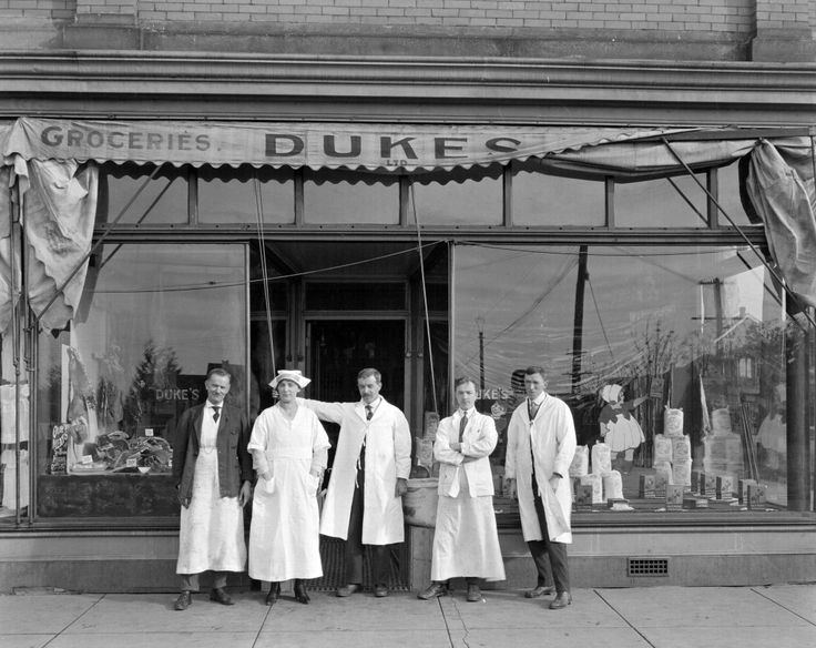 1920 - Duke's Groceries: 1588 Commercial Drive