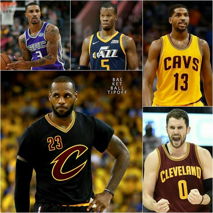 Here Is My Prediction For The Cleveland Cavaliers Potential Starting 5 And Key Bench Players After The Trade Once Everyo Kyle Korver Larry Nance Jr Rodney Hood