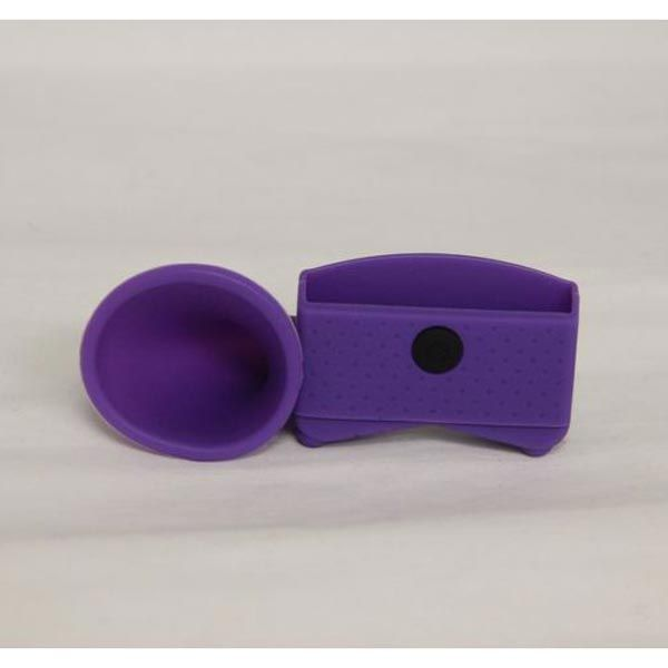 Silicone Trumpet Holder Amplifier Loudspeaker For iPhone 5 5S