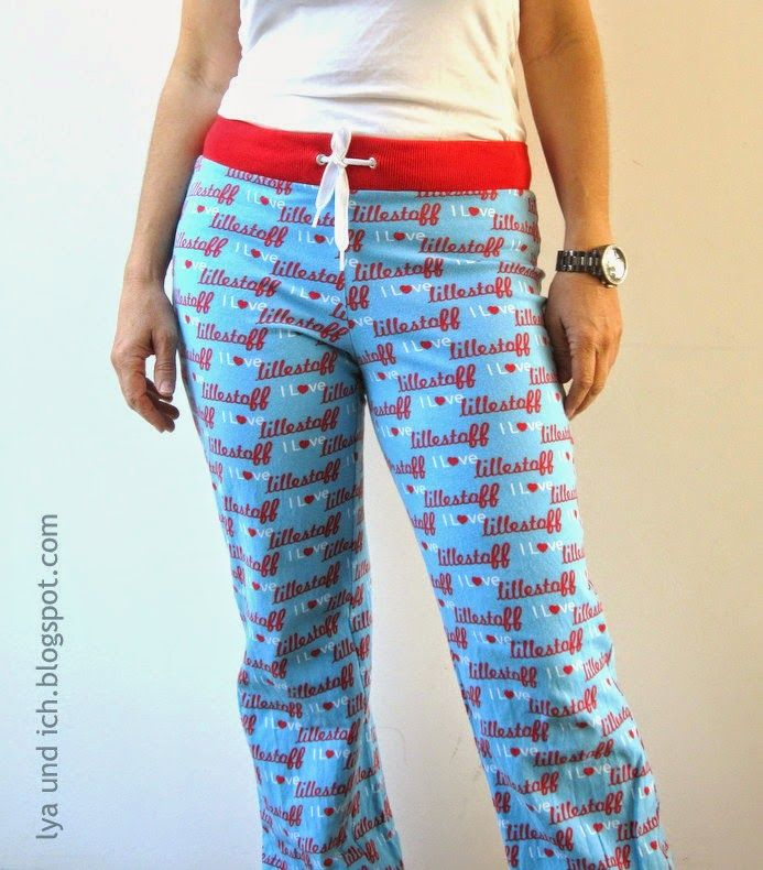 lillesol & pelle Schnittmuster/ sewing pattern: Freizeithose / pants