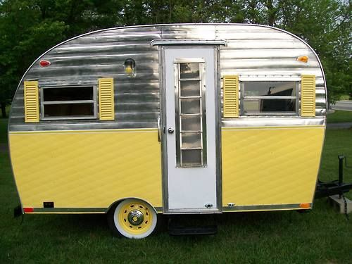 3212 best images about vintage trailers on pinterest vintage campers vintage trailers. Black Bedroom Furniture Sets. Home Design Ideas