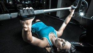 Minimalist weight-lifting gloves!
