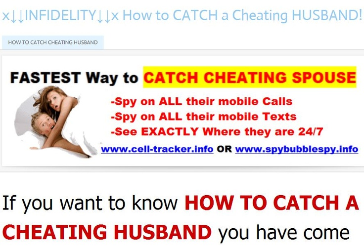 Find cheating spouse on dating sites