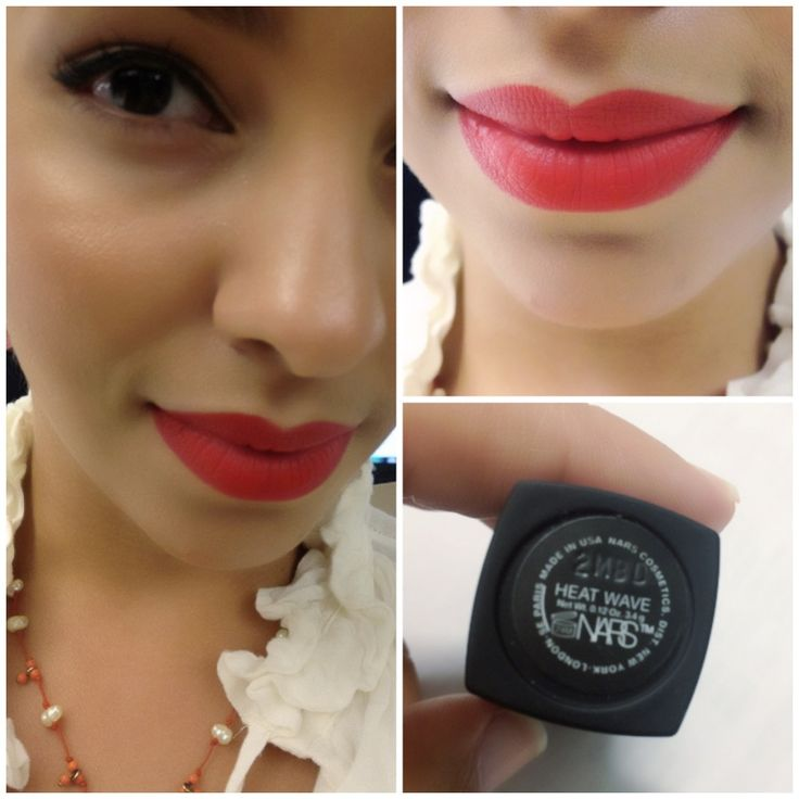 NARS Matte Lipstick Rouge A Levres # Heat Wave - ขายปลีก ...
