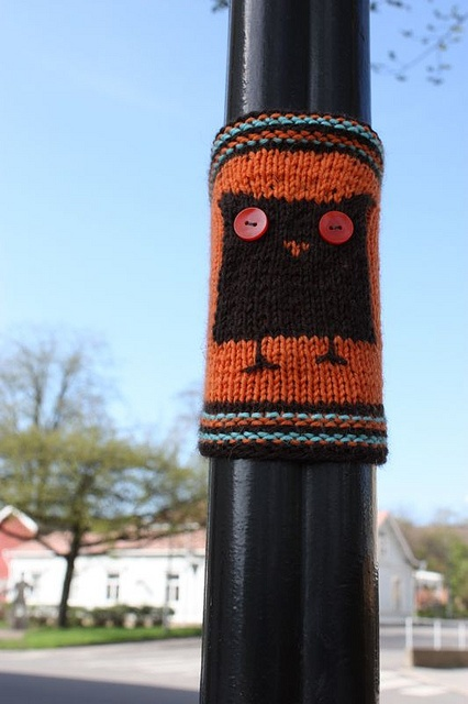 Finnish Yarn Bomb