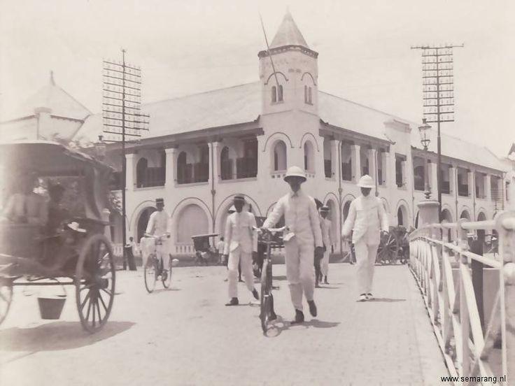 Semarang in the old days - Gedung Lawang Sewu