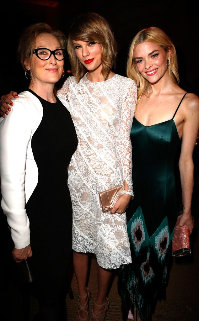 The trio mix and mingle at The Weinstein Company's Academy Award party hosted by DeLeon Tequila at the Montage.